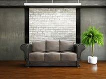 Livingroom with sofa Stock Photo
