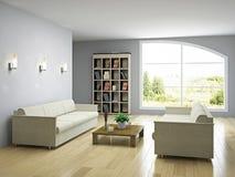 Livingroom with sofas Stock Photos