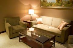 Livingroominterior Fotografering för Bildbyråer