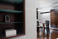 livingroomsikt Royaltyfri Foto