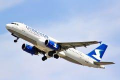 Livingston Compagnia Aerea Airbus A320 Imagen de archivo