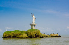 Livingston-Statue Guatemala Stockbild