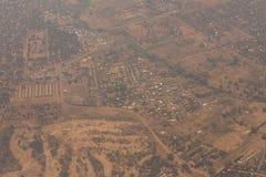 Livingstone miasteczko, zambiowie - Afryka Obrazy Stock