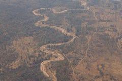Livingstone miasteczko, zambiowie - Afryka Zdjęcie Royalty Free