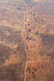 Livingstone miasteczko, zambiowie - Afryka Fotografia Royalty Free