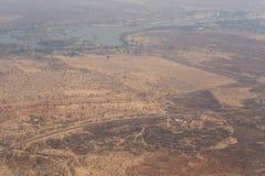 Livingstone miasteczko, zambiowie - Afryka Obraz Royalty Free