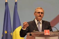 Liviu Dragnea - национальный конгресс PSD Стоковое фото RF