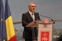 Liviu Dragnea - национальный конгресс PSD Стоковое Изображение RF