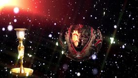 Livlig bakgrund för jul stock illustrationer