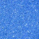 Livlig blå bakgrund med drps Fotografering för Bildbyråer