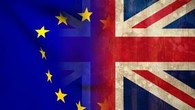 Livlig EU-flaggavideo