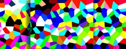 Livlig färgrik bakgrund Arkivfoton