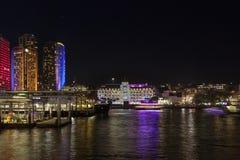 LIVLIG festival Sydney Royaltyfri Bild