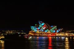 LIVLIG festival Sydney Royaltyfri Foto