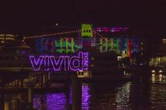 LIVLIG festival Sydney royaltyfria bilder