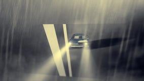 Livlig kall bil Royaltyfria Foton