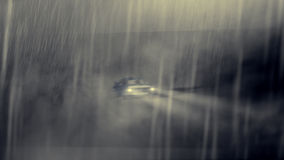 Livlig kall bil Royaltyfria Bilder