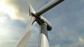 Livlig vindturbin Ögla-i stånd vektor illustrationer