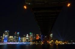 Livliga Sydney 2016 Arkivbild