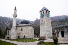 Livno το μουσουλμανικό τέμενος HadÅ ¾ ι Amhet Στοκ Εικόνες