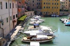 Livorno邻里 库存图片