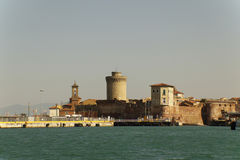 Livorno on Boat Royalty Free Stock Photography