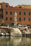 Livorno on Boat Royalty Free Stock Photography