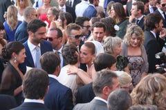 Livorno, boda Giorgio Chiellini y Carolina Bonistalli Imagen de archivo