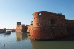 Livorno castle Stock Photography