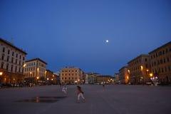 Livorno. CIRCA JUNE 2013 - LIVORNO: impressions, city square of Livorno, Italy Stock Photography
