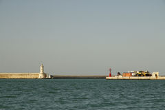 Livorno en el barco Fotos de archivo libres de regalías