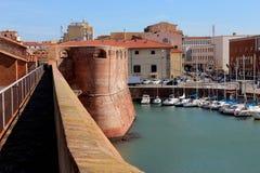 Livorno fortezza vecchia Royalty Free Stock Images