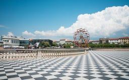 Livorno, Italië door de oceaan Royalty-vrije Stock Foto