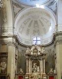 Livorno, Italia, San Ferdinando Church altar fotografia stock libera da diritti