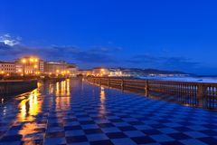 Livorno, Italy Royalty Free Stock Photo