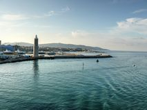 Livorno (Leghorn) harbour Royalty Free Stock Images