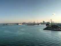 Livorno (Leghorn) harbour Stock Photo