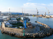 Livorno (Leghorn) harbour Royalty Free Stock Photography