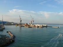 Livorno (Leghorn) harbour Royalty Free Stock Photo