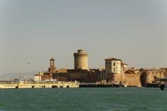 Livorno no barco Fotografia de Stock Royalty Free