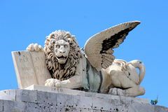 Livorno San Marco square Royalty Free Stock Photography