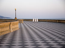 Livorno - Terrazza Mascagni Royaltyfria Bilder