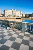 Livorno, Terrazza Mascagni. Tuscany, Italy. Royalty Free Stock Photos