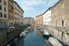 Livorno town, Italy Royalty Free Stock Image