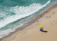 Livräddare på stranden Royaltyfri Bild