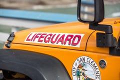 Livräddare Vehicle Royaltyfria Foton