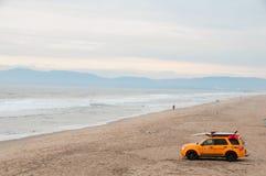 Livräddarebil i Kalifornien Arkivbilder