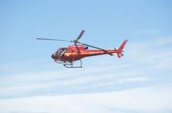 LivräddareHelicopter Rio de Janeiro Brazil Bombeiros Coast vakt Arkivfoton