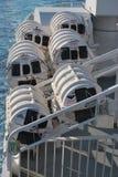 Livräddningsbåtar Arkivfoto