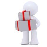 Livraison des cadeaux Photographie stock